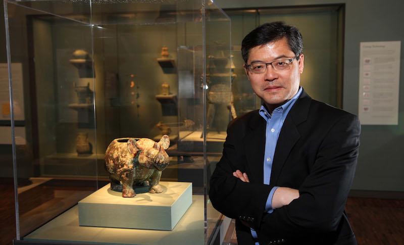 Dr. Jay Xu at the Asian Art Museum of San Francisco