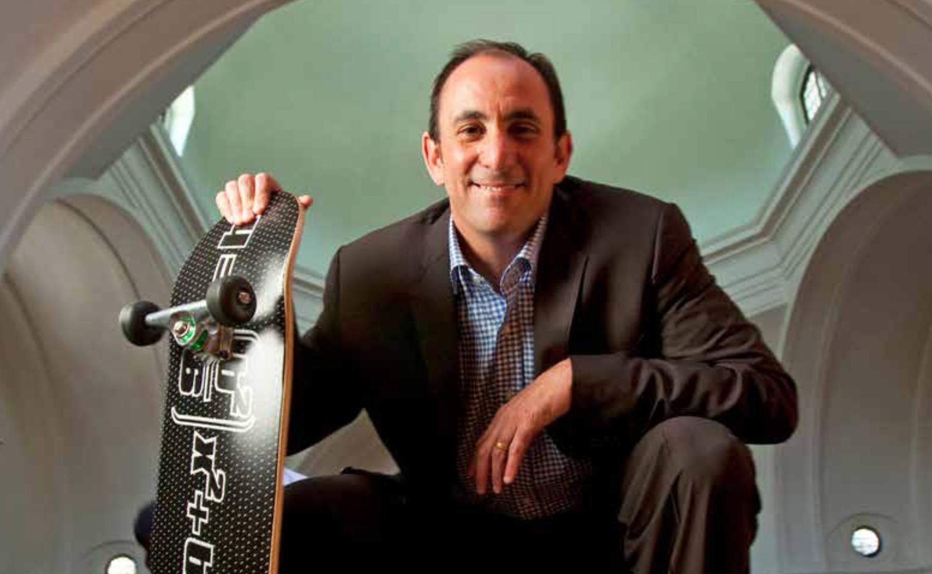 Micah Parzen, CEO, San Diego Museum of Man