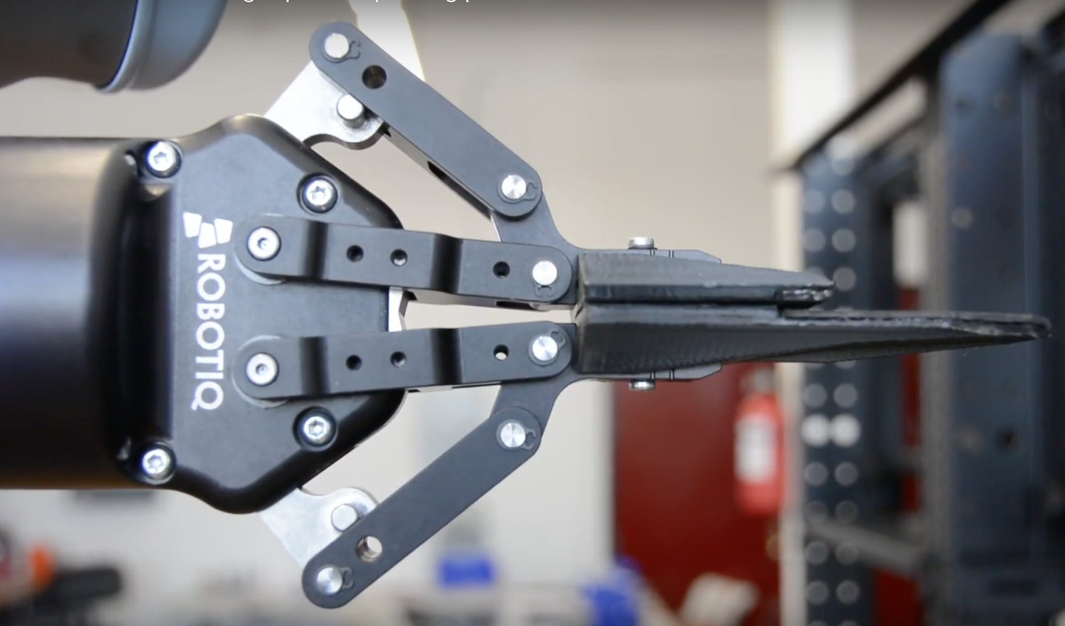 An image of a robot arm used for manufacturing