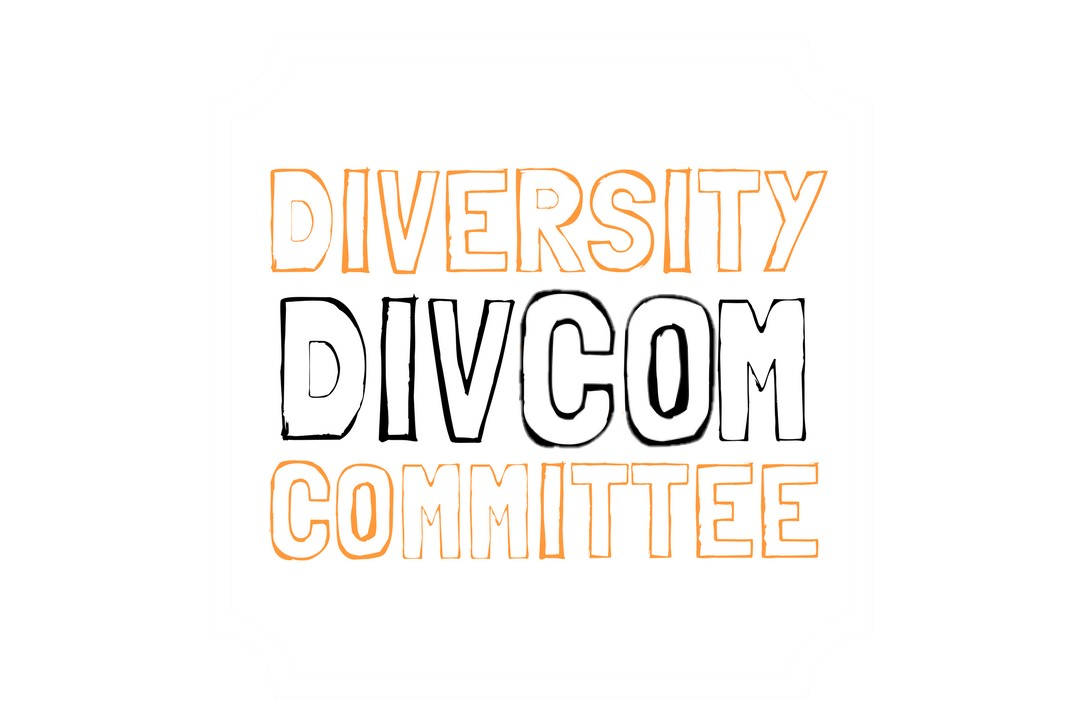 An image of the Diversity Committee logo on a white background.
