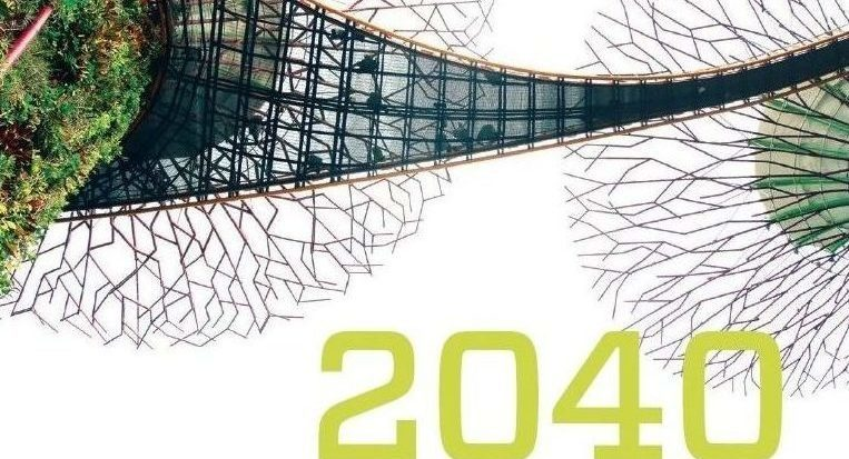 Cover image of the Museum 2040 magazine