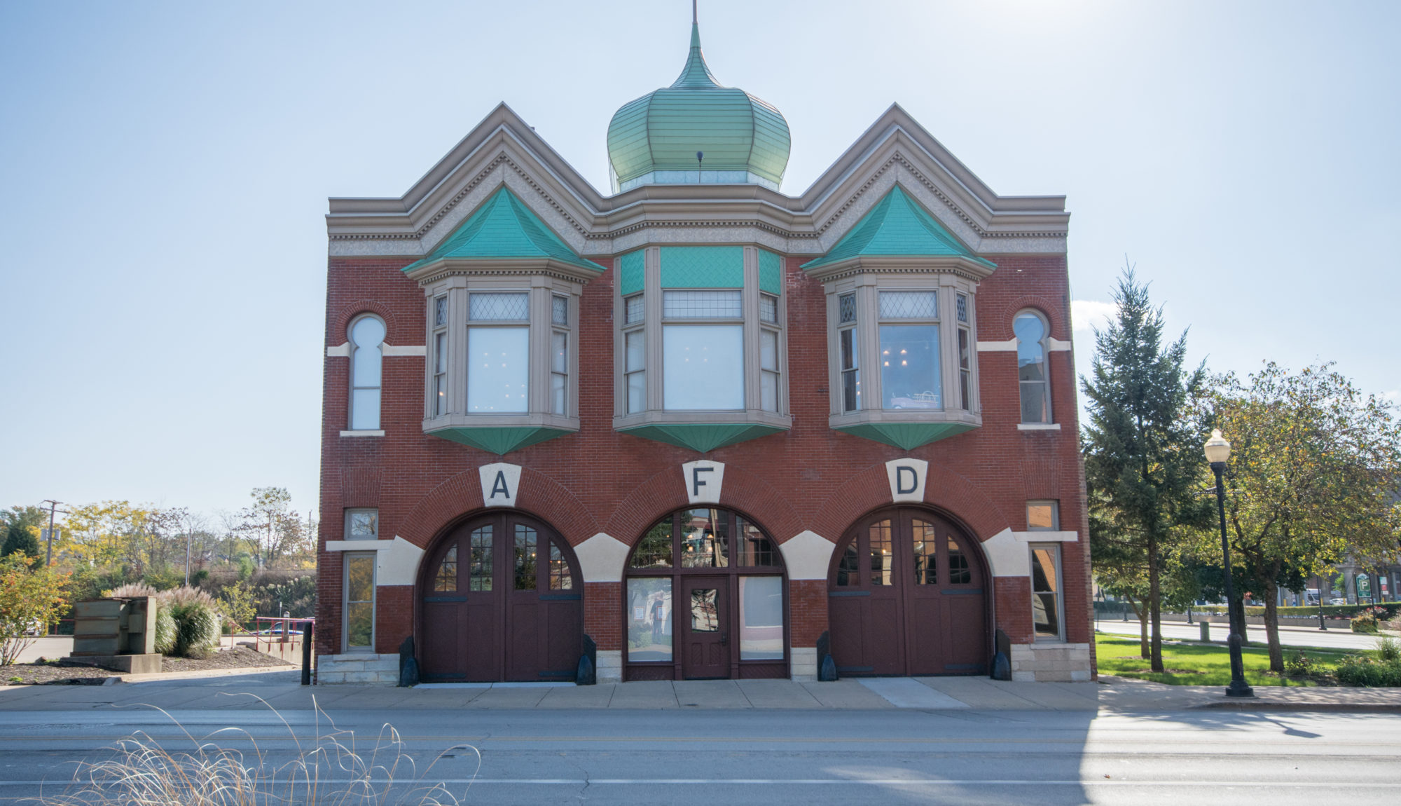 An image of the aurora regional fire museum building