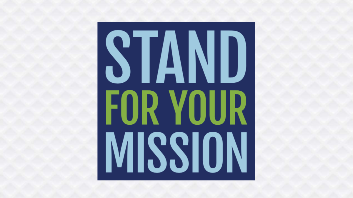 Graphic: Stand for your Mission report cover