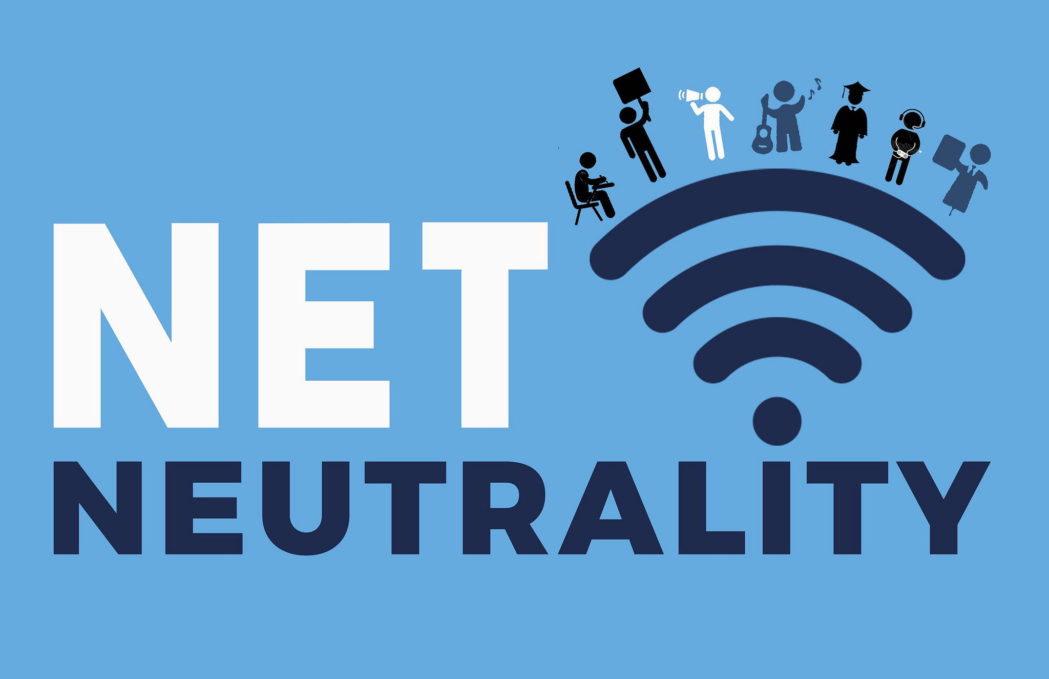 Save Net Neutrality banner