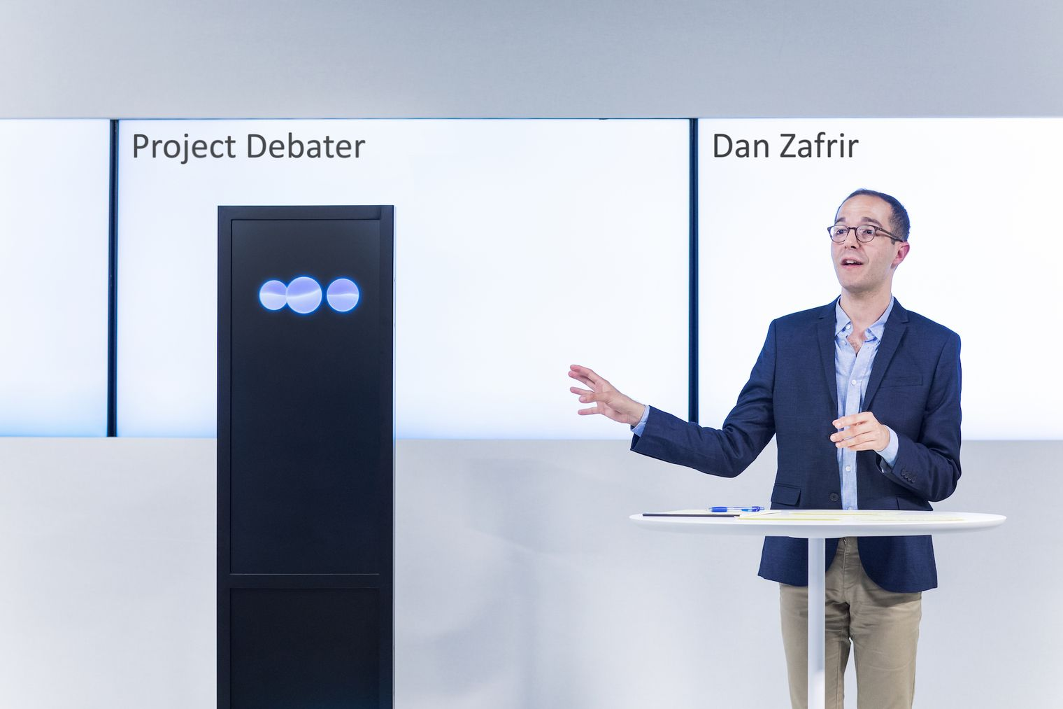 IBM Watson Project Debator with human opponent