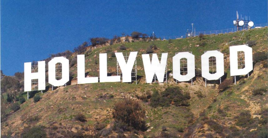 Image of the Hollywood sign.