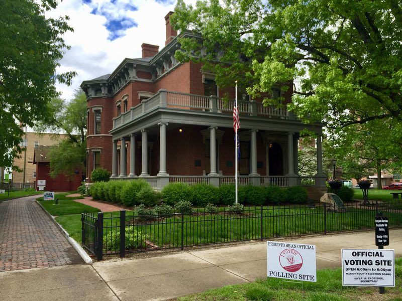 The Benjamin Harrison Presidential Site in Indianapolis (Courtesy of the BHPS)