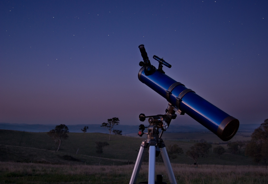 """Telescope"" by Ryan Wick on Flickr, CC BY 2.0"