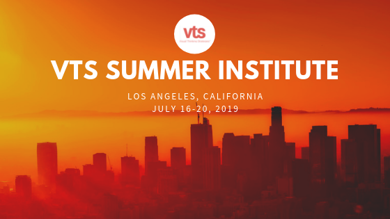 Visual thinking strategies summer institute banner