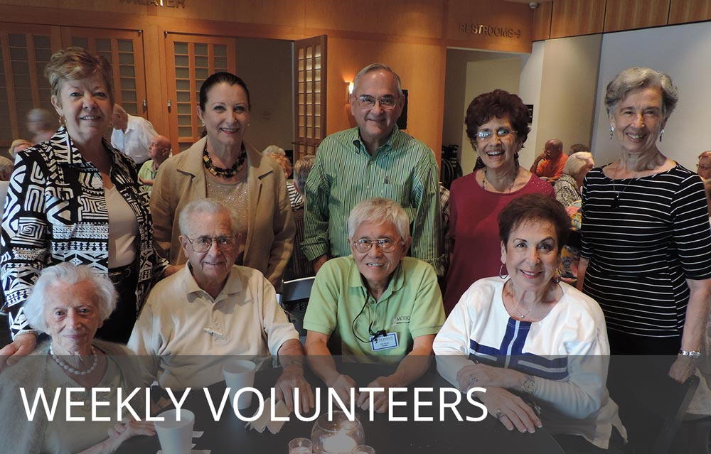 Volunteers at the Morikami Museum and Japanese Gardens, Delray Beach, Florida