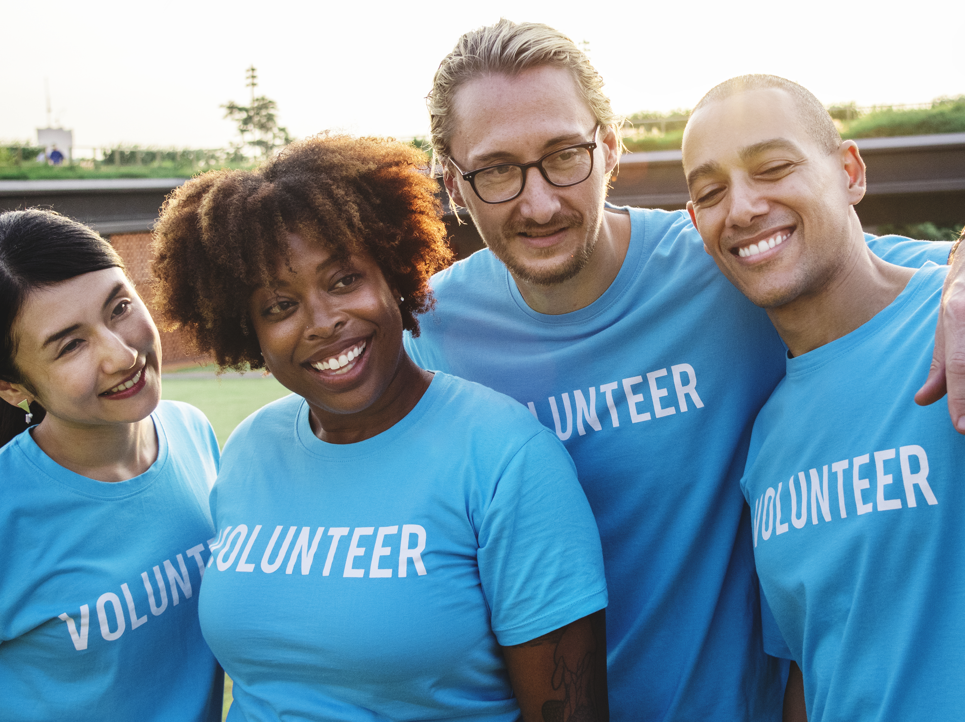 """Group of happy and diverse volunteers"" by  rawpixel.com"