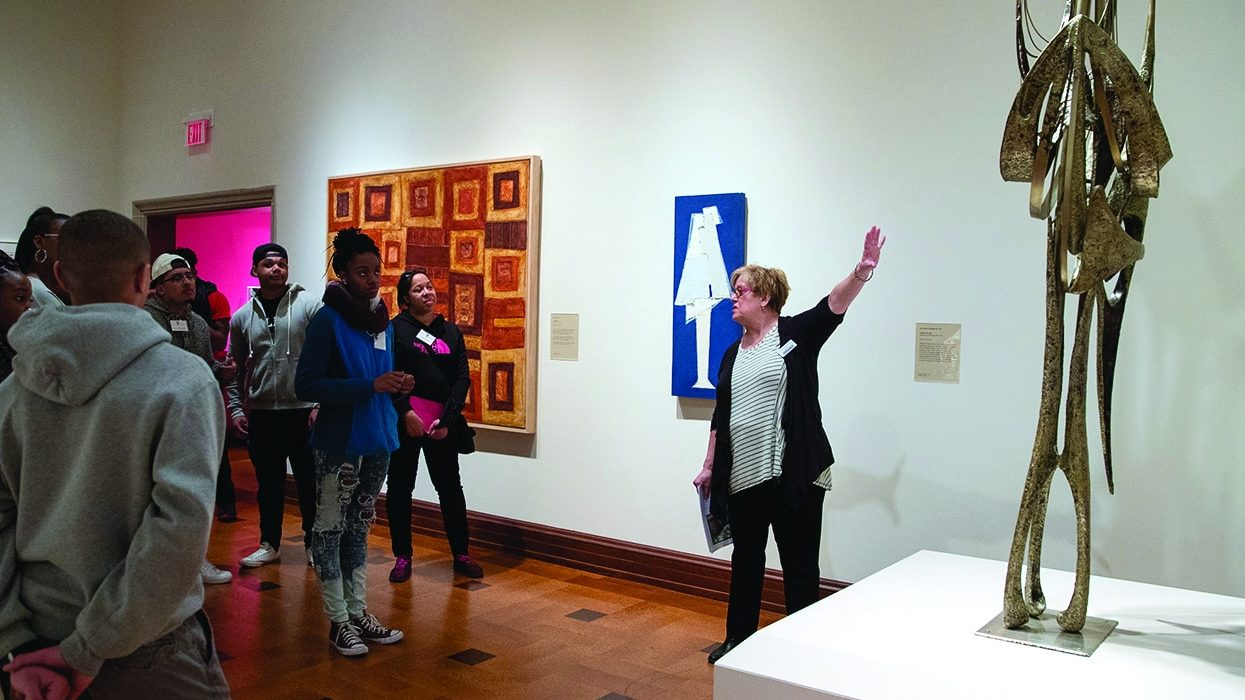 The David Owsley Museum of Art at Ball State University has seen dramatic growth in size and considerable change in its community since it created its current interpretation plan. Now, with the help of a new MAP Education and Interpretation Assessment, it's looking to update practices and keep up with the changing times.