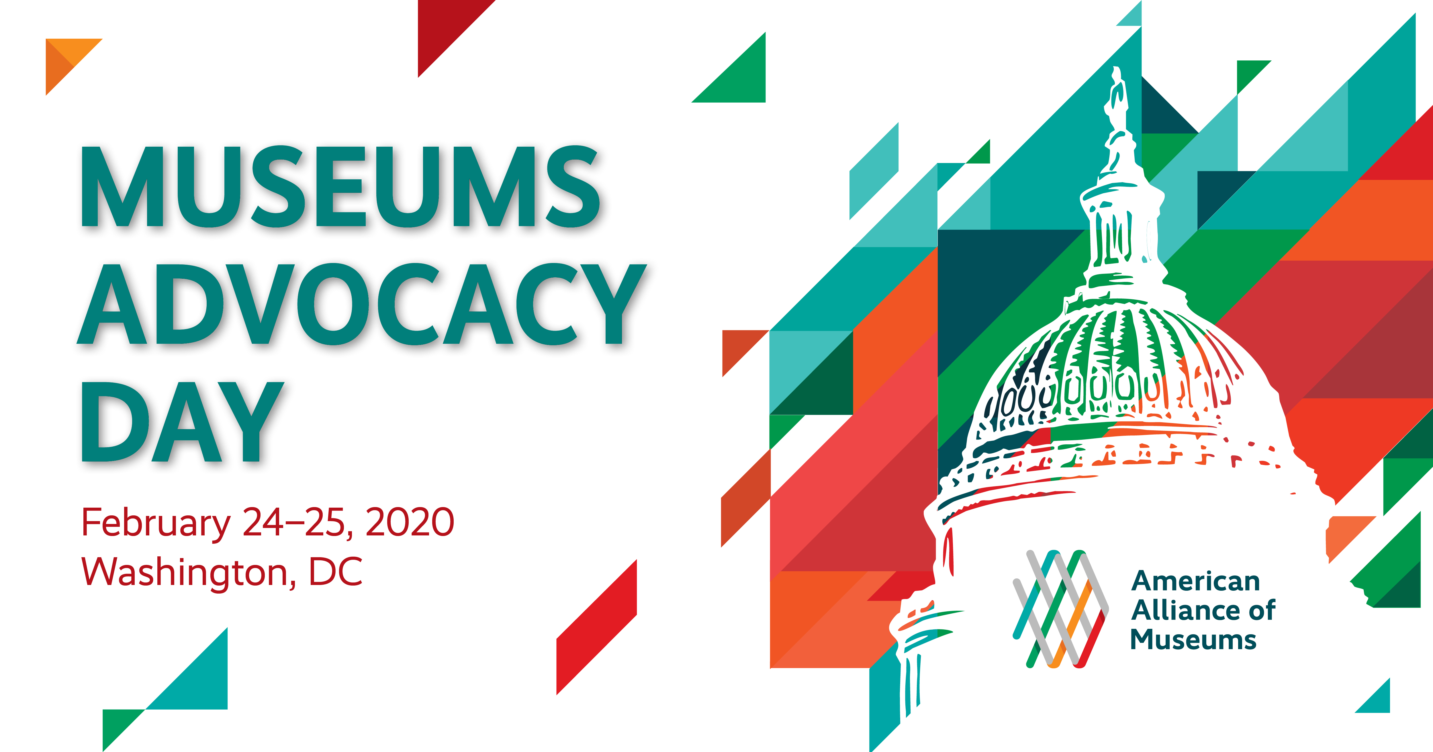 Museums Advocacy Day 2020 Graphic