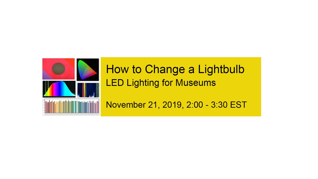 How to change a lightbulb-LED lighting in museums