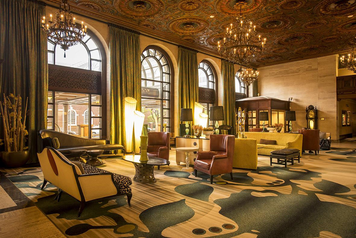 Hotel DuPont Lobby