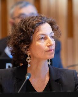 UNESCO's Director-General Audrey Azoulay. Credit: UNESCO/Calix