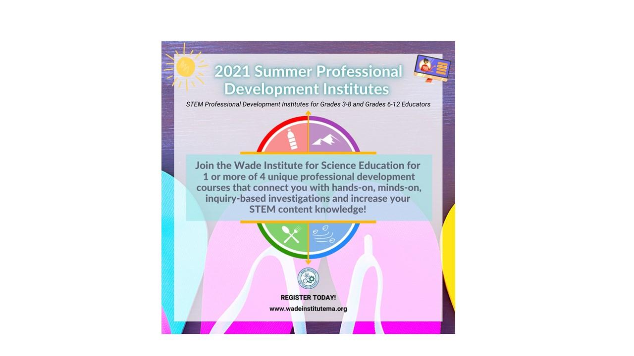 2021 Summper Professional Development Institutes
