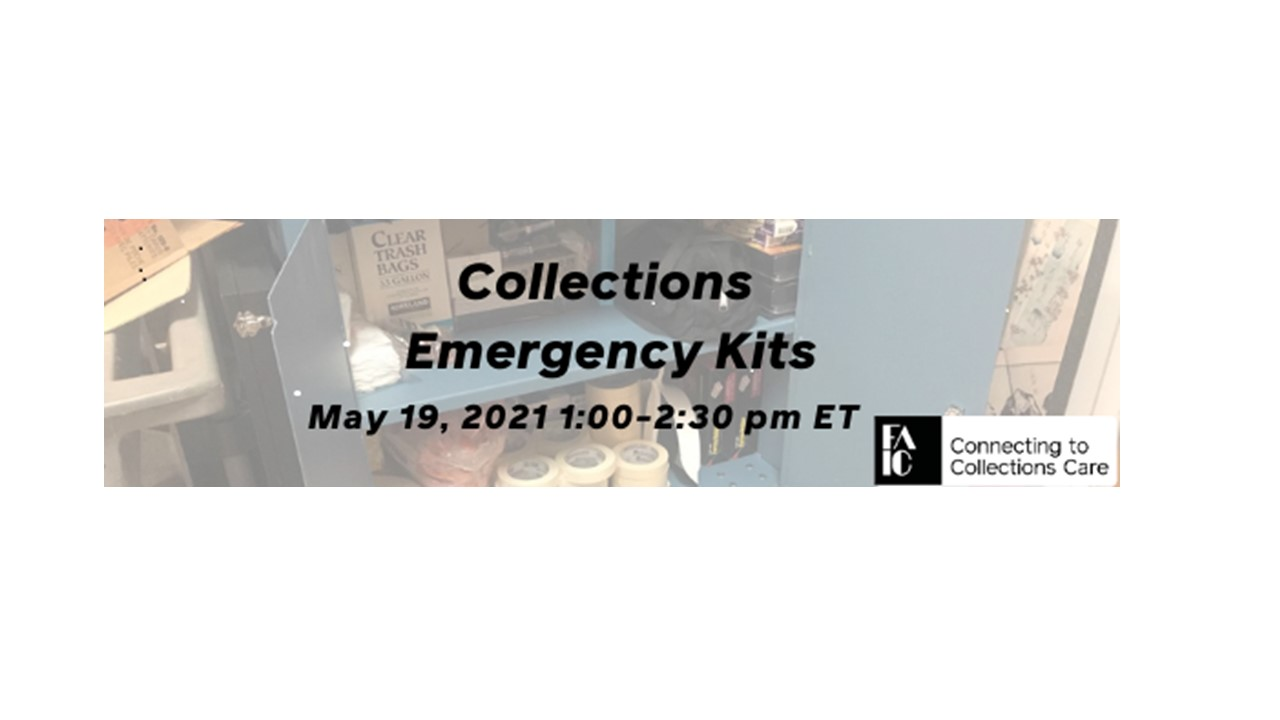 Collections Emergency Kits