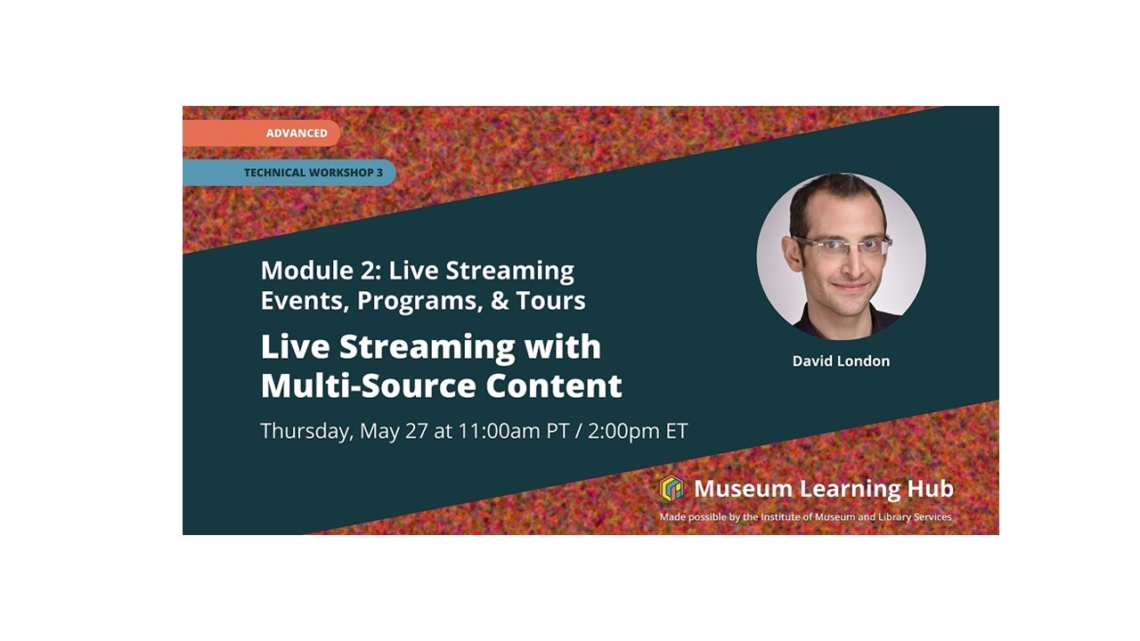 Live Streaming with multi-source content