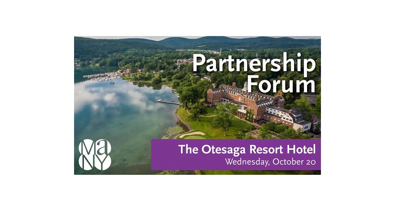 aerial shot of Otesaga Resort & Hotel