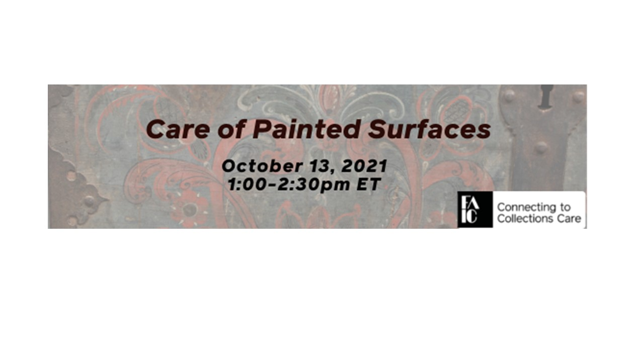 Care of Painted Surfaces